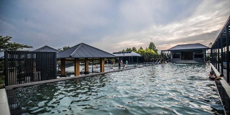 [苗栗住宿]享沐時光莊園度假酒店/我以為到了日本溫泉飯店?這裡真的不是日本!親子共遊超大露天泳池風呂!