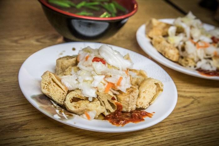 [中壢美食]135香酥臭豆腐/隱藏版巷弄美食,在地人帶路才找得到的香酥臭豆腐!
