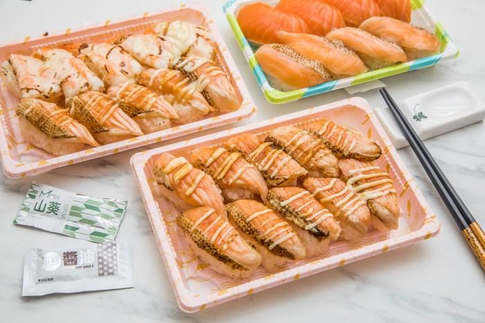 [桃園美食]Magic Touch点爭鮮/炙燒鮭魚壽司大軍殺到!一顆炙燒鮭魚壽司只要12元!