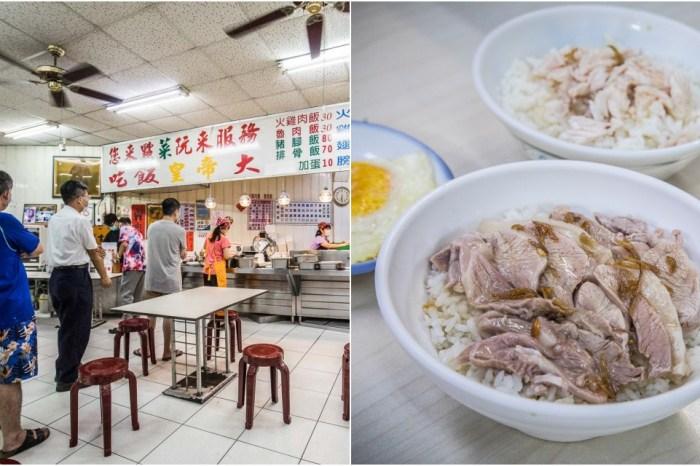 嘉義美食 》阿里山火雞肉飯,數十年歷史火雞肉飯老店,在地人上門比例超高!