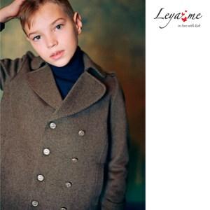 Пальто-бушлат для мальчика
