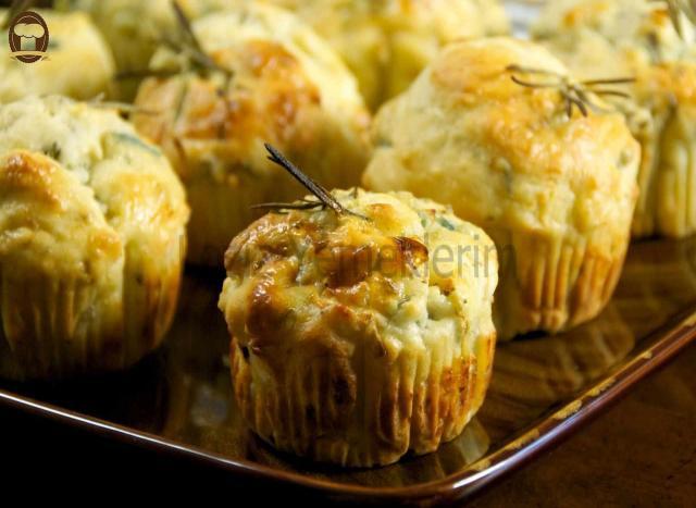 Peynirli Muffin - Leziz Yemeklerim