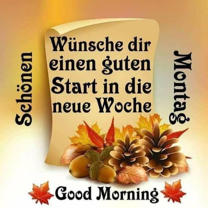 Eine Gute Neue Woche Gefuhle Gugumo Guten Morgen