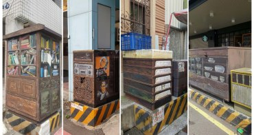 【台南中西區】誰把變電箱變美了~~台南四大創意變電箱