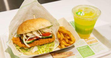 【台南中西區-美食】穿短褲薯條免費升等|嘉義來的漢堡美食|美食街美食~樂檸漢堡台南西門店