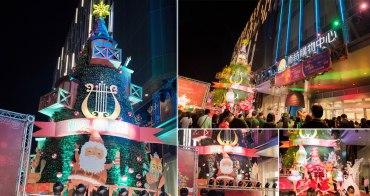 【台南景點】南紡聖誕裝飾|12公尺高童話北歐幸福樹|星空市集~~南紡2019聖誕裝飾