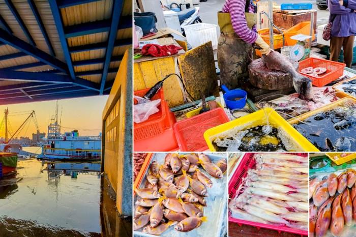 【澎湖景點】澎湖最大漁獲集散地|早起才逛的到的魚市場|體驗夜半時間的喝魚仔|新鮮魚貨零售~馬公第三漁市場