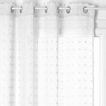 rideaux voilage blanc comparer les