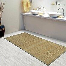 tapis bambou gris comparer les prix