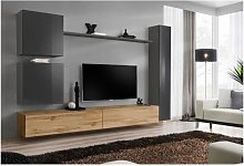 ensemble meuble tv mural design