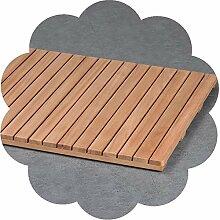 tapis de bois pour douche comparer