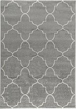 tapis gris clair moderne comparer les