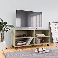meuble tv a roulettes comparer les