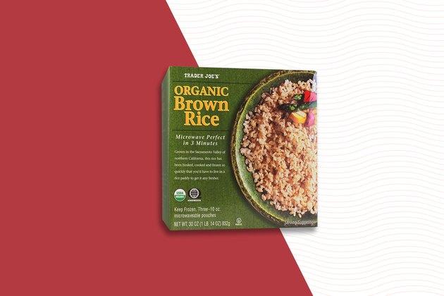 Organic Frozen Brown Rice Trader Joe's Frozen food