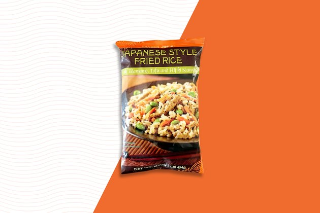 Japanese-Style Fried Rice Trader Joe's Frozen food