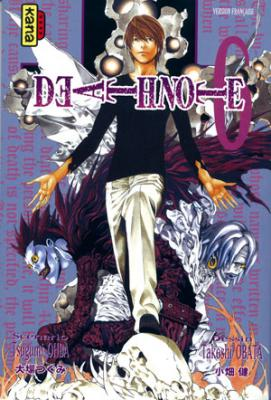 Couverture Death Note, tome 06