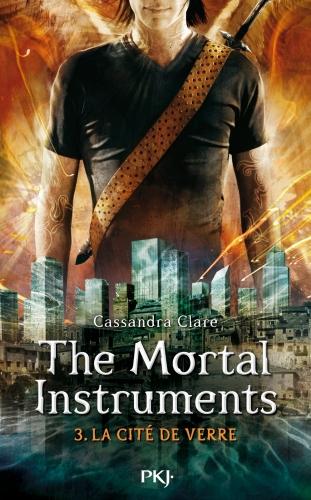 Couverture La Cité des Ténèbres / The Mortal Instruments, tome 3 : Le Miroir mortel