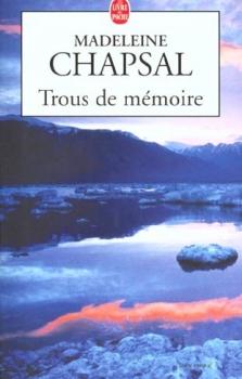 Couverture Trous de mémoire