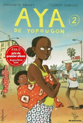 Couverture Aya de Yopougon, tome 2