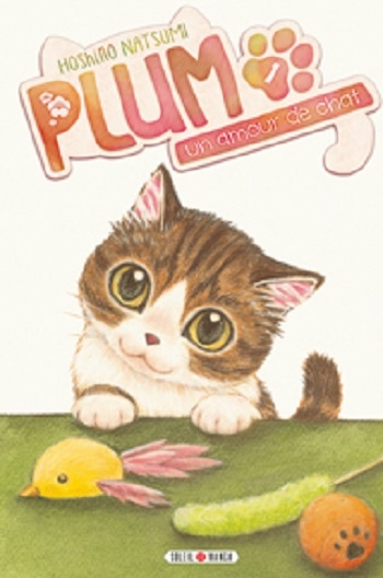 Couverture Plum, un amour de chat, tome 01