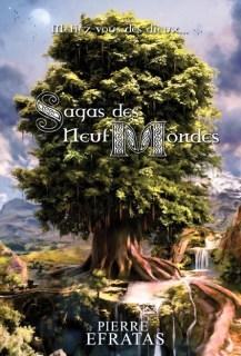 Couverture Sagas des Neuf Mondes, intégrale