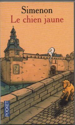 Couverture - Le chien jaune