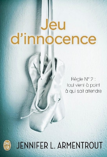 Couverture Jeu de patience, tome 2 : Jeu d'innocence