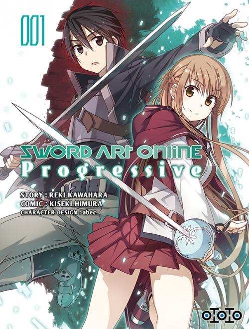 Couverture Sword Art Online : Progressive, tome 1