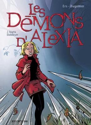 Couverture Les Démons d'Alexia, tome 2 : Stigma Diabolicum