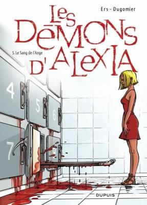 Couverture Les Démons d'Alexia, tome 5 : Le Sang de l'Ange