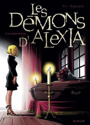 Couverture Les Démons d'Alexia, tome 6 : Les larmes de sang
