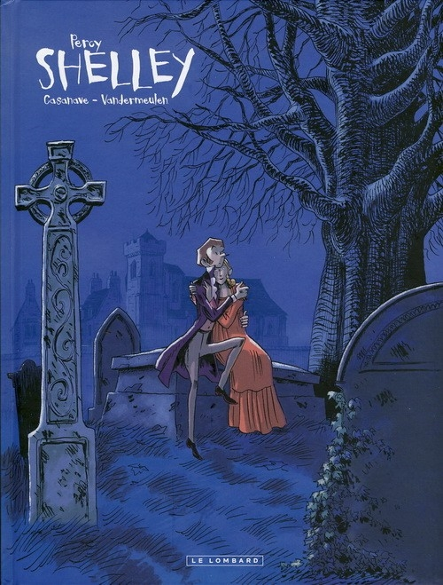 Couverture Shelley, tome 1 : Percy de David Vendermeulen et Daniel Casanave