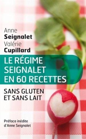 Couverture Le régime Seignalet en 60 recettes sans gluten et sans lait