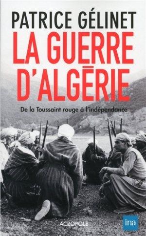 Couverture La Guerre d'Algérie