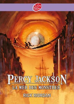 Couverture Percy Jackson, tome 2 : La mer des monstres de Rick Riordan