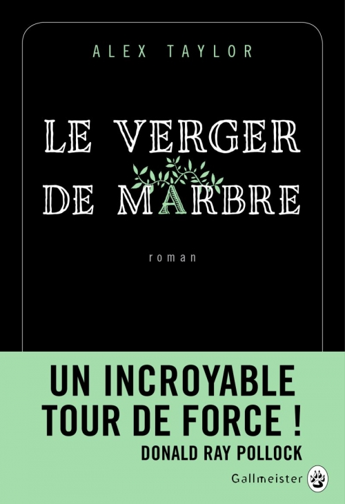 Couverture Le verger de marbre