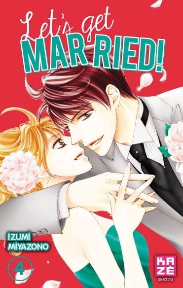 Couverture Let's get married!, tome 4