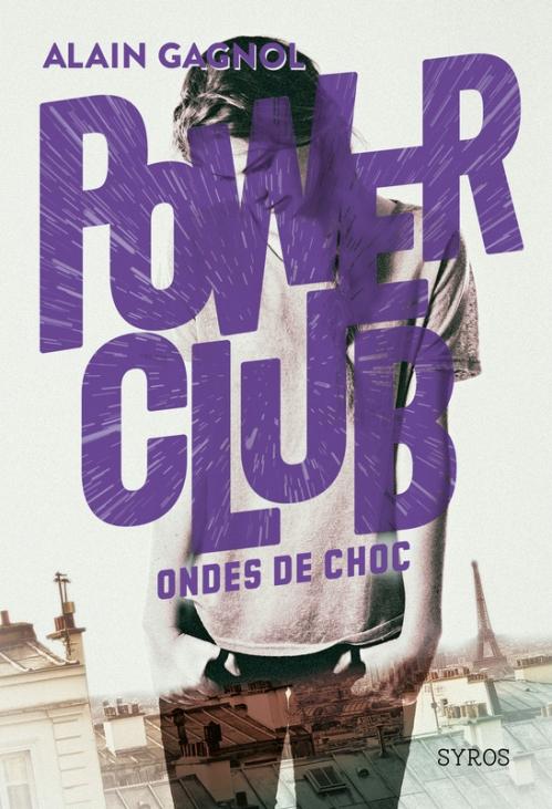 Couverture Power club, tome 2 : Ondes de choc