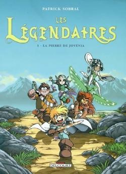 Couverture Les Légendaires, tome 01 : La pierre de Jovénia