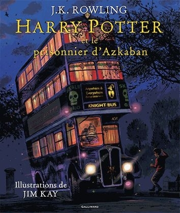 Couverture Harry Potter, illustré, tome 3 : Harry Potter et le prisonnier d'Azkaban