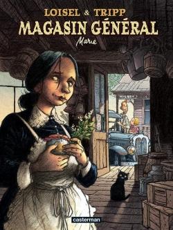 Couverture Magasin général, tome 1 : Marie