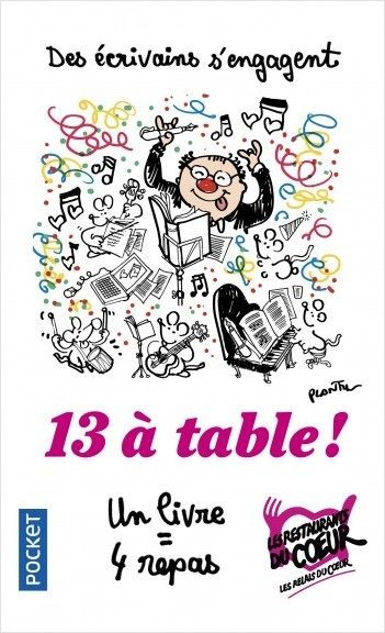 Couverture 13 à table ! (2018)