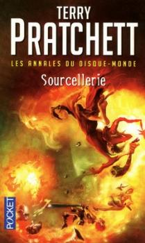 """Couverture """"Sourcellerie"""" de Terry Pratchett"""