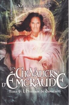 Couverture Les Chevaliers d'Émeraude, tome 09 : L'Héritage de Danalieth