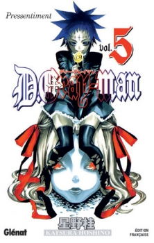 Couverture D.Gray-man, tome 05 : Pressentiment