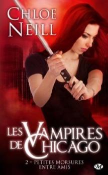 Couverture Les Vampires de Chicago, tome 02 : Petites morsures entre amis
