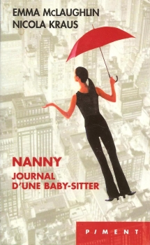Couverture Nanny, journal d'une baby-sitter