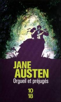 Couverture d'Orgueil et Préjugés de Jane Austen