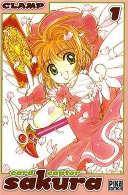 Couverture Card Captor Sakura, double, tome 01 & 02