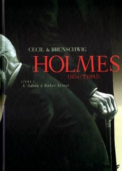 Couverture de Holmes, Livre 1 L'Adieu à Baker Street